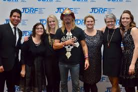 Community - Bret and with members of the JDRF