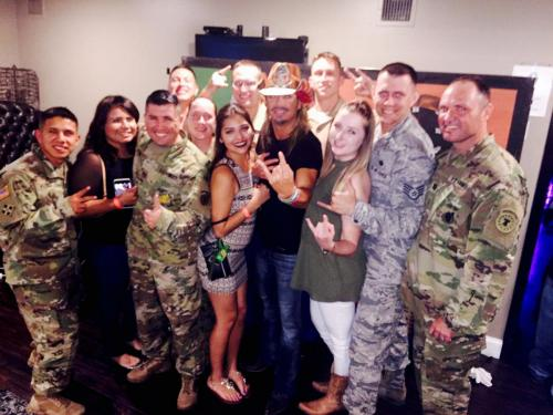 Military Support - Meet and Greet with MIlitary Troops and Their Families